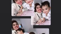 <p>2. Dari pernikahan tersebut, Raya Kitty dikaruniai seorang anak laki-laki bernama Abqari al Tariq pada 14 Oktober 2019. usia Abqari kini genap 1 tahun, Bunda. (Foto: Instagram @rayanurfitrird)</p>