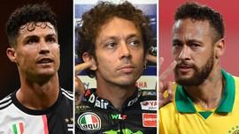 FOTO: Corona Hantam Bintang Dunia Olahraga