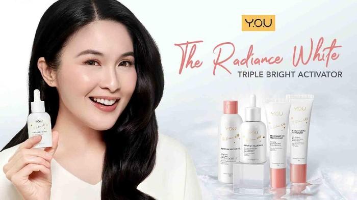 Gandeng Sandra Dewi, Y.O.U Luncurkan Rangkaian Skincare Baru