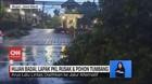 VIDEO: Hujan Badai, Lapak PKL Rusak & Pohon Tumbang