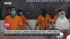 VIDEO: Tersangka Ujaran Kebencian RUU Cipta Kerja Ditahan