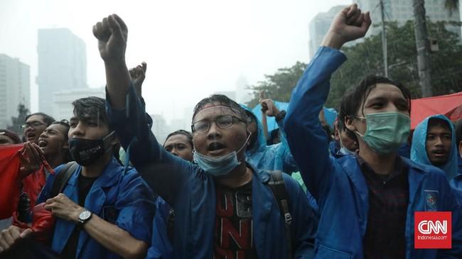 Aliansi BEM SI Geruduk Jakarta 27 September, Demo TWK KPK