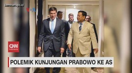 VIDEO: Polemik Kunjungan Prabowo ke AS