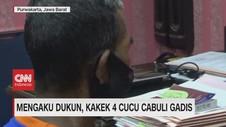 VIDEO: Mengaku Dukun, Kakek 4 Cucu Cabuli Gadis