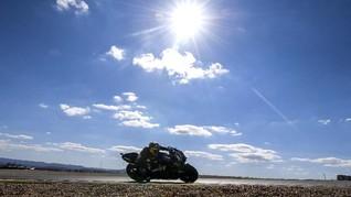 FOTO: Dominasi Yamaha di FP2 MotoGP Aragon