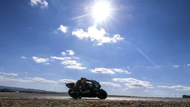 Live streaming Trans7 MotoGP Aragon bisa disaksikan melalui CNNIndonesia.com pada Minggu (18/10).