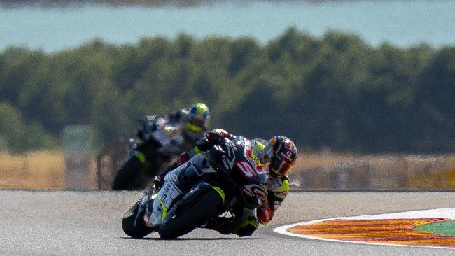 Jadwal MotoGP Aragon 2020 mundur dari rencana semula untuk mengantisipasi perubahan cuaca.