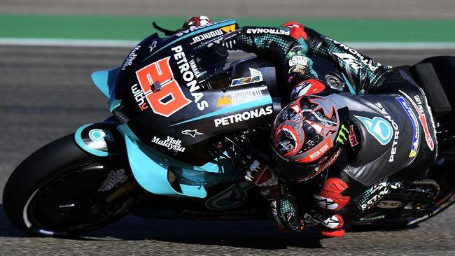 MotoGP Aragon berlangsung pada Minggu (18/10.Berikut prediksi balapan menurut redaksi CNNIndonesia.com.