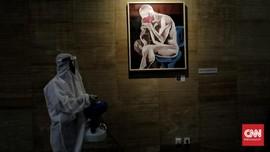 FOTO: Refleksi Kehidupan Masa Pandemi Dalam Karya Seni Rupa