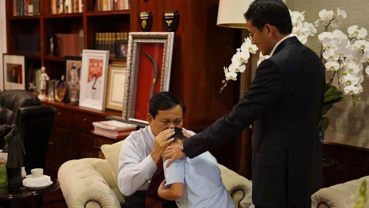 Prabowo Subianto ulang tahun, Sandiaga Uno beri ucapan menyentuh.