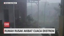 VIDEO: Rumah Rusak Akibat Cuaca Ekstrem