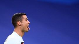 Juventus vs Barcelona, Ronaldo Bingung Masih Positif Corona