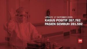 VIDEO: 17 Oktober Kasus Positif 357.762 Pasien Sembuh 281.592