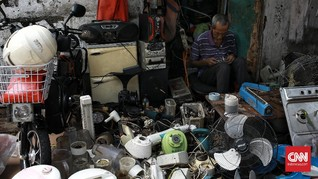 FOTO: Geliat Penjualan Barang Antik Kala Pandemi Covid-19