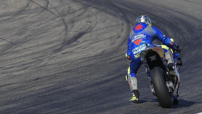 Joan Mir punya kesempatan jadi juara dunia MotoGP 2020 di MotoGP Valencia, Minggu (15/11). Berikut cara Joan Mir bisa jadi juara dunia.