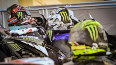 FOTO: Aksi Terbaik Kualifikasi MotoGP Aragon