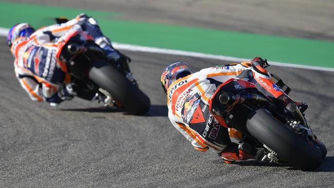 Fabio Quartararo merebut pole MotoGP Aragon 2020. Berikut foto-foto terbaik dari kualifikasi MotoGP Aragon.