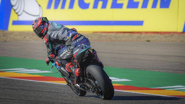 Fabio Quartararo berharap bisa tampil baik dan berpisah tanpa masalah dengan Petronas Yamaha di MotoGP Portugal, Minggu (22/11).