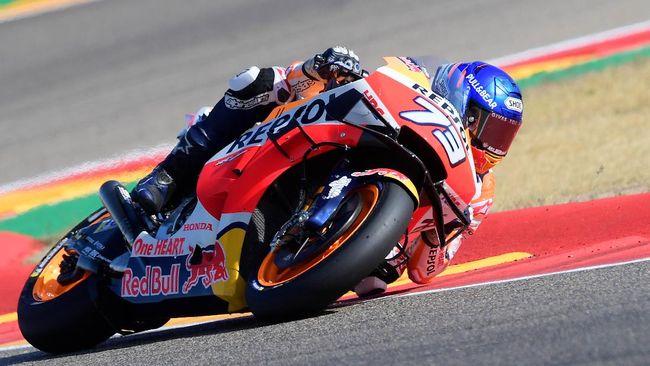 Pembalap Honda Alex Marquez membela Joan Mir yang emosi usai merengkuh gelar juara dunia MotoGP 2020.