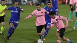 Hasil Liga Spanyol: Barcelona Kalah dari Getafe