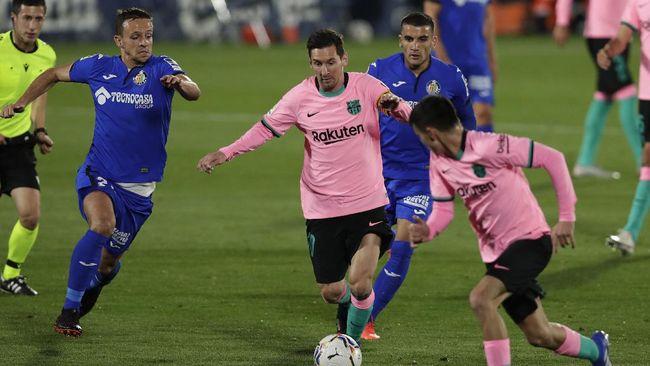 Manchester City dilaporkan berencana mendatangkan Lionel Messi dari Barcelona pada bursa transfer, Januari 2021.