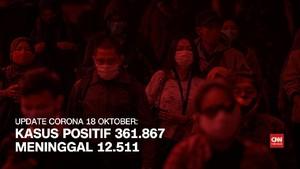 VIDEO: 18 Oktober, Kasus Positif Corona 361.867