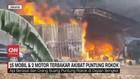VIDEO: 15 Mobil & 2 Motor Terbakar Akibat Puntung Rokok