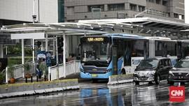 TransJakarta Tutup 11 Halte karena Renovasi