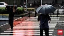 BMKG Peringatkan Hujan Lebat Guyur Jabodetabek