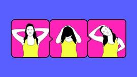 INFOGRAFIS: Gerakan Yoga Atasi Sakit Kepala dalam 5 Menit