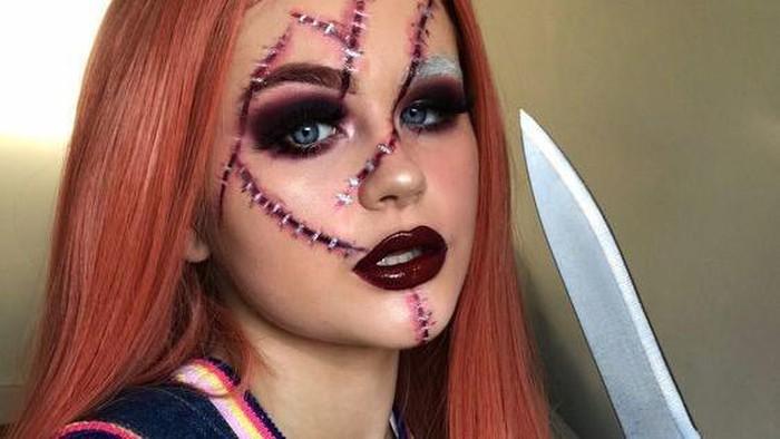 Intip Inspirasi Makeup Simple untuk Halloween