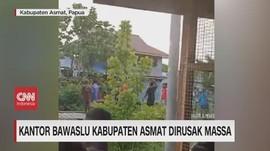 VIDEO: Kantor Bawaslu Kabupaten Asmat Dirusak Massa