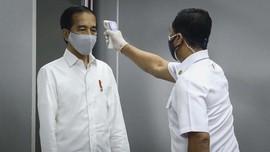 Jokowi Klaim Kasus Covid Makin Turun Tanpa Kurangi Jumlah Tes