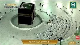 VIDEO: Arab Naikkan Kapasitas Jemaah Sholat Di Masjidil Haram