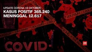 VIDEO: 19 Oktober, Kasus Positif Corona di RI 365.240 Orang