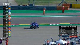 VIDEO: Momen Lucu Motor Alex Rins Mogok Usai MotoGP Aragon