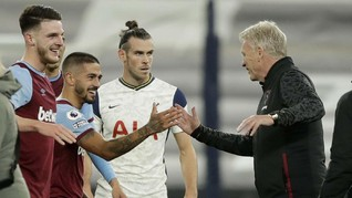 FOTO: Suka Cita West Ham Buyarkan Pesta Tottenham
