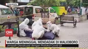 VIDEO: Warga Meninggal Mendadak di Malioboro