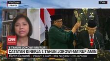 VIDEO: Catatan Kinerja 1 Tahun Jokowi-Ma'ruf Amin