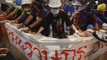 2 Orang Luka dalam Penembakan di Lokasi Demo Thailand