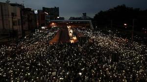 FOTO: Demonstran Thailand Pantang Surut Suarakan Tuntutan