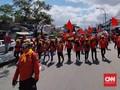 Buruh dan Mahasiswa Kembali Demo Omnibus Law di Rancaekek