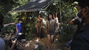 FOTO: Di Balik Layar Pekan Mode Digital Pertama di India