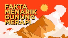 INFOGRAFIS: Fakta Menarik Gunung Merapi