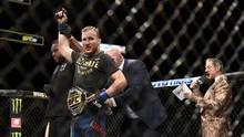 UFC 254: Gaethje Lepas Sabuk Interim di Hadapan Khabib