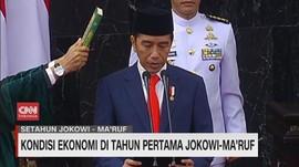 VIDEO: Kondisi Ekonomi di Tahun Pertama Jokowi-Ma'ruf