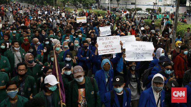 Aliansi BEM Seluruh Indonesia memberi waktu 3x24 jam bagi Jokowi untuk bersikap soal Novel Baswedan dkk yang akan dipecat dari KPK gara-gara TWK.