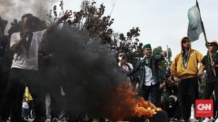 Sampah Demo Omnibus Law 20 Oktober di Jakarta Capai 2,1 Ton