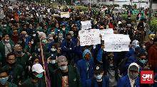 Polisi Tak Terbitkan Tanda Terima Pemberitahuan Demo Esok