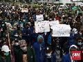Demo Ciptaker, BEM SI Beri Waktu Jokowi Sampai Sumpah Pemuda